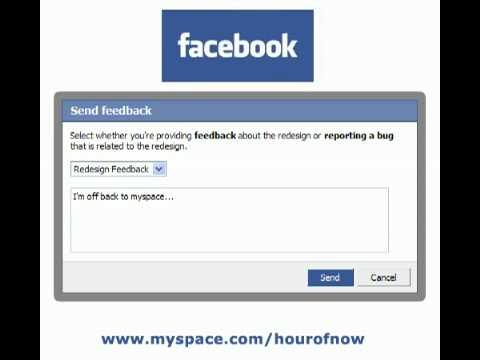 Facebook Song - Facebook Lament (The Layout Change Song)