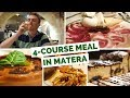Download Italian Cuisine - Eating a 4 course meal in Matera, Italy MP3,3GP,MP4