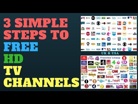 3 Simple Steps to FREE TV Channels