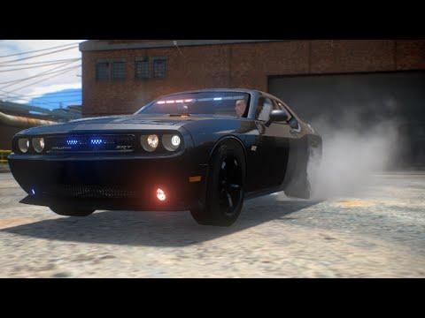 Police Challenger SRT8 [GTA IV Car Mod]