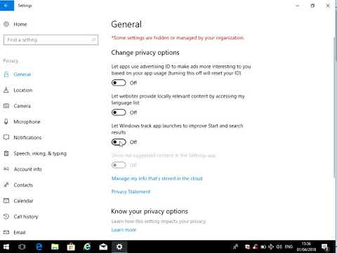 How to Turn Location Services On or Off in Windows 10