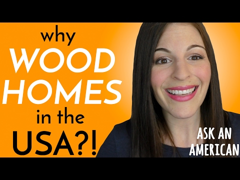 Why Are Houses in America MADE OF WOOD?!