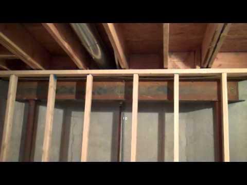 Gap between basement wall and ceiling joist.mp4