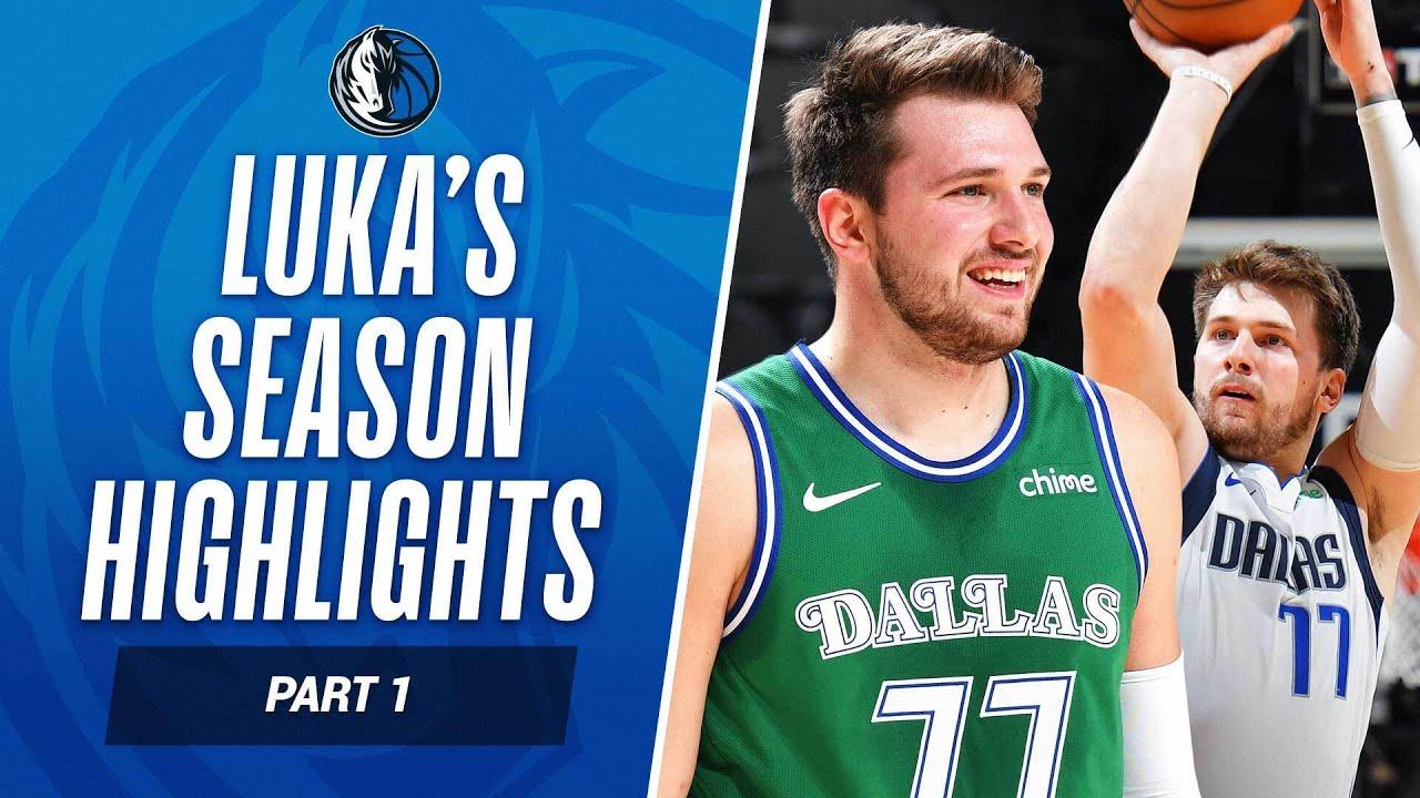 Luka's Top Plays Of The Season So Far! 👀