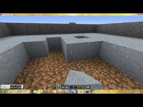 Minecraft-How to make a SWIMMING POOL WITH DIVING BOARDS