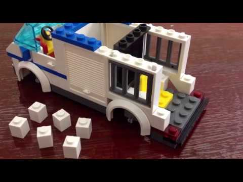 How To Build A Lego Police Car With Motorcycle