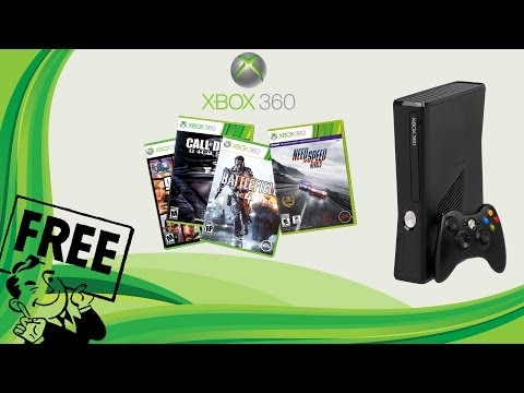 Free Xbox games with a flashed Xbox