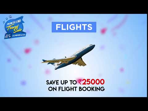 Get Discount Up To Rs. 25000 on Flight Booking with EaseMyTrip