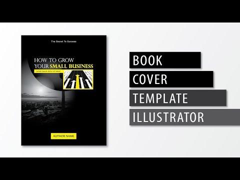 Illustrator tutorial - Book cover template