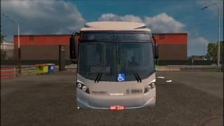 Euro Truck Simulator 2 [Mod review - CAIO Bus]