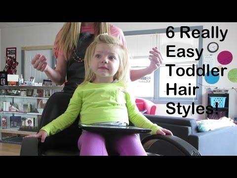 Easy Toddler HairStyles! #CarolinaStyleHairVideo