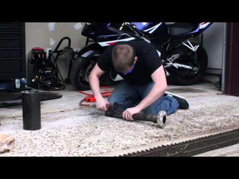 How to cut/modify your motorcycle exhaust