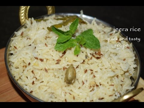 Jeera rice in Kannada/Zeera Rice/Ghee Rice/North Indian Rice recipe for dal thadka