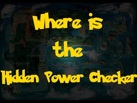 Where Is: The Hidden Power Move Checker (Pokemon Alpha Sapphire/Omega Ruby)