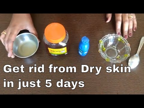 Best dry skin remedy|How to cure dry skin|dry skin natural remedy