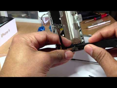 How to replace iphone 4 dock connector