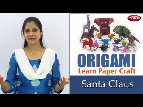 How to make Paper Santa Claus steps | Origami Projects| Origami Paper Santa Claus | Hindi  Video
