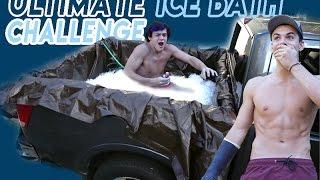 CRAZY ICE BATH CHALLENGE!!