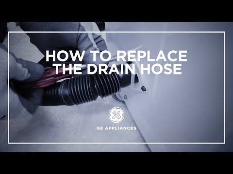 Washer Drain Hose Installation