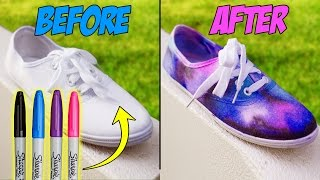 DIY Clothes Using SCHOOL SUPPLIES!! DIY Ideas & Outfits for Fun & SCHOOL!