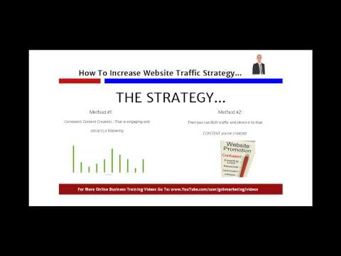 How To Increase Traffic To Your Website - Buying Website Traffic Strategy