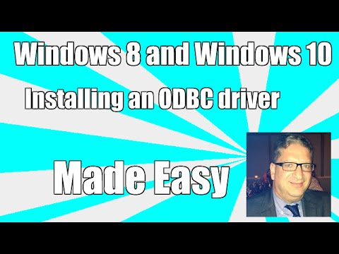 Installing an odbc driver in Windows 8 and Windows 8.1 and Windows 10 SQL Server ODBC Driver Excel