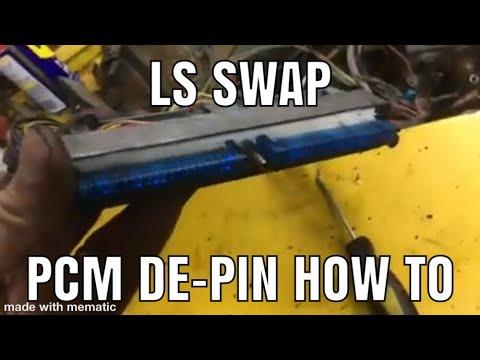 Take Apart a PCM ECM Connector 4.8L 5.3L 6.0L LS1