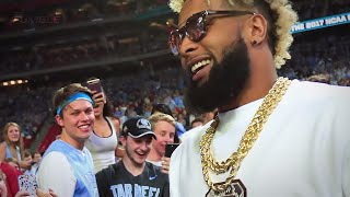 Odell Beckham Jr Does the Milly Rock Dance on a Roller Coaster