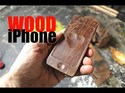 Make A Wood iPhone (and a Whale)
