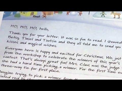 Grumpy elf sends harsh response to N.B. boy's Santa letter