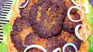 Peshawari Chapli Kabab   پشاوری چپلی کباب