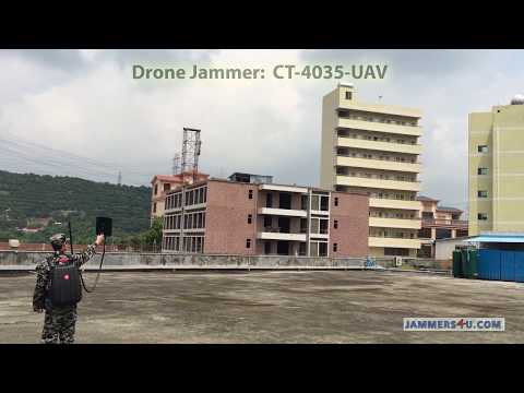 Anti-UAV Drone Defence Jammer CT-4035 UAV vs Phantom 3