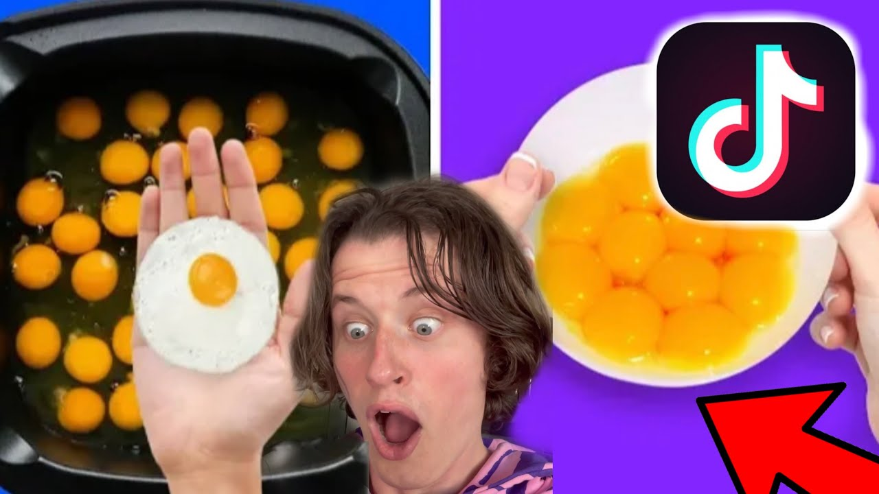 TESTING THE MOST VIRAL TIKTOK EGG HACKS (MY GIRLFRIEND WAS SO MAD AT THE END)