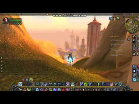 World of warcraft how to get on top of silver moon city