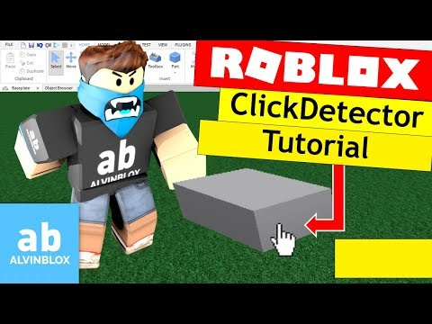How To Make A ClickDetector Script On Roblox - FilteringEnabled Compatible