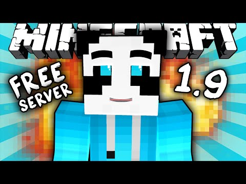 1.9 FREE MINECRAFT SERVER HOSTING - Minehut.com (Minecraft Server Showcase)