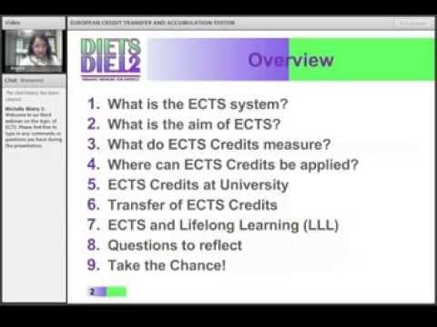 ECTS Webinar 3 - Part 1 of 3