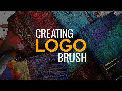 How to Make a Custom Brush for a Logo or Watermark in Photoshop #AskPiX
