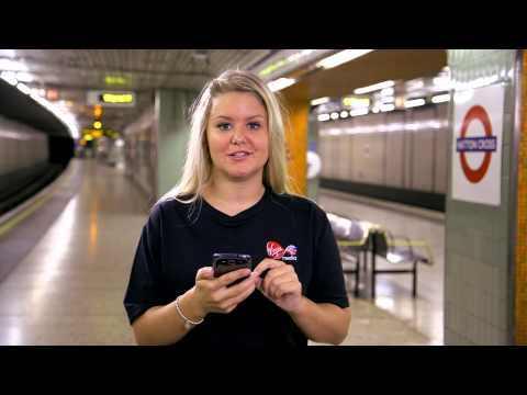 How to connect your mobile device to Virgin Media London Underground WiFi