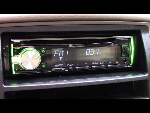 (Full HD) Comparing Pioneer HD  Radio with SuperTuner 3D to Stock Radio