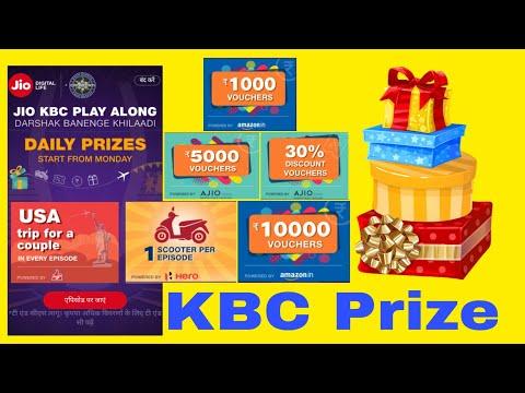 Jio KBC Play Along prize Announced...
