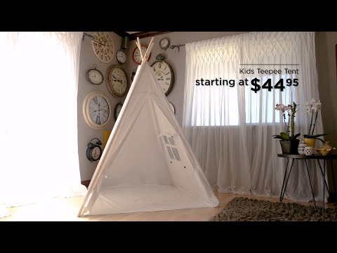 Best Choice Products' Kids Teepee Tent