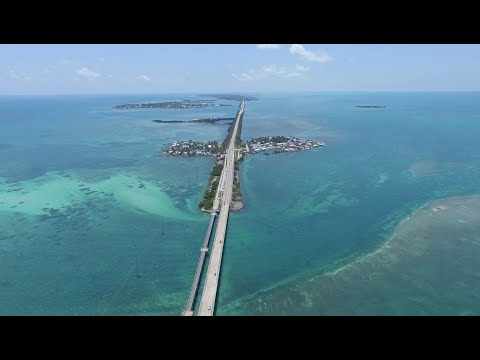 Flying Drones in the Florida Keys