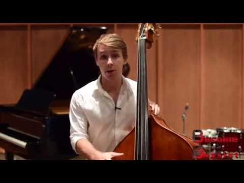 How To Play Double Bass Perfectly In Tune Without Having To Think About It (Lesson 1/12)