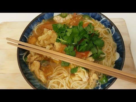 Tomato Egg Noodle (V) - Chinese Home Cooking