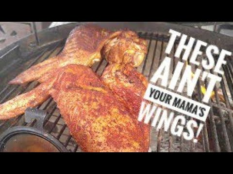Smoking in a Kettle & Smoked Turkey Wings by TREmendous Que