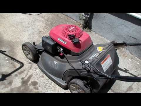 Honda hrb216 lawn mower repair, blade clutch, Alameda Repair Shop