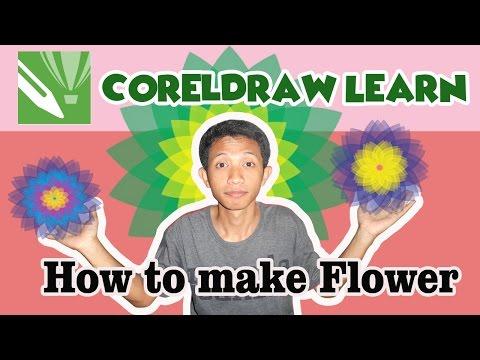 CorelDraw Make a Flower Design