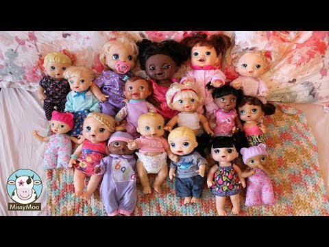 My entire Baby Alive Doll Collection