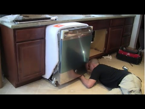 How to Install a Dishwasher Step by Step